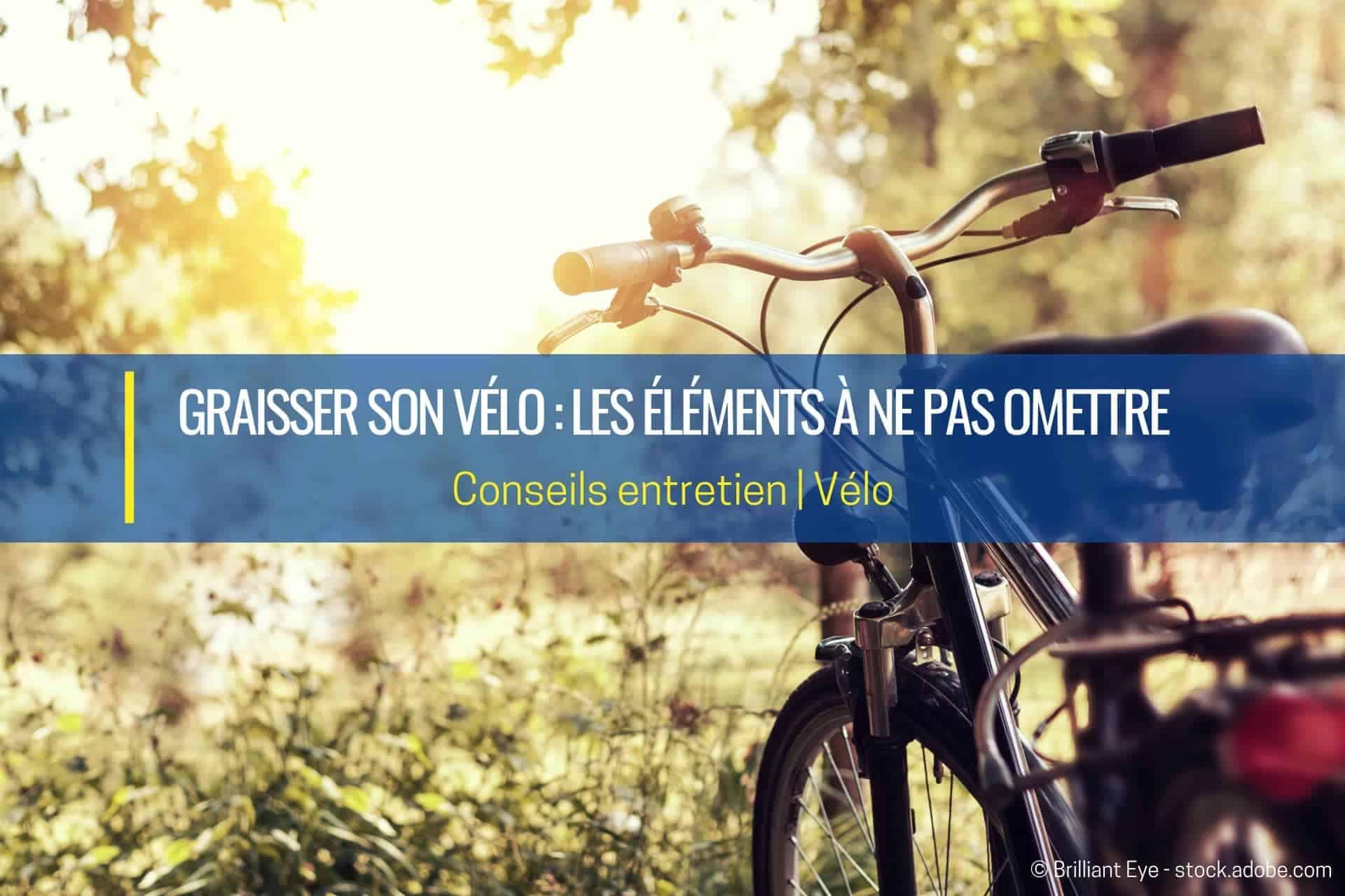 graisser son vélo