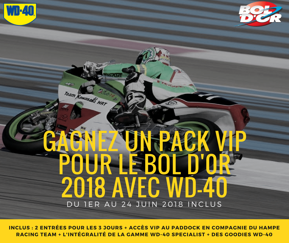 places pour le bol d'or 2018