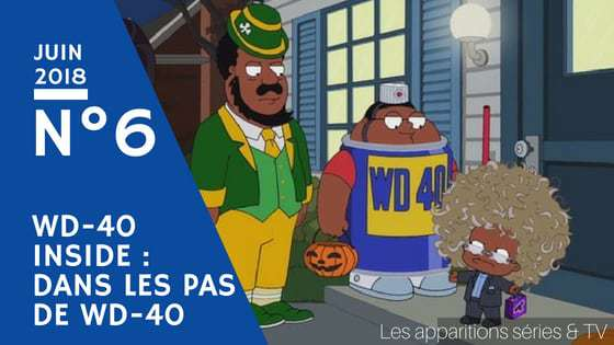 apparitions séries et tv wd40