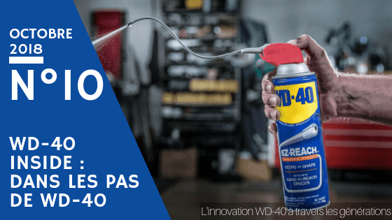 innovation wd 40 à travers générations