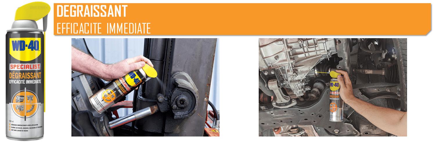 Série Métier : les usages WD-40 pour le mécanicien auto poids lourd