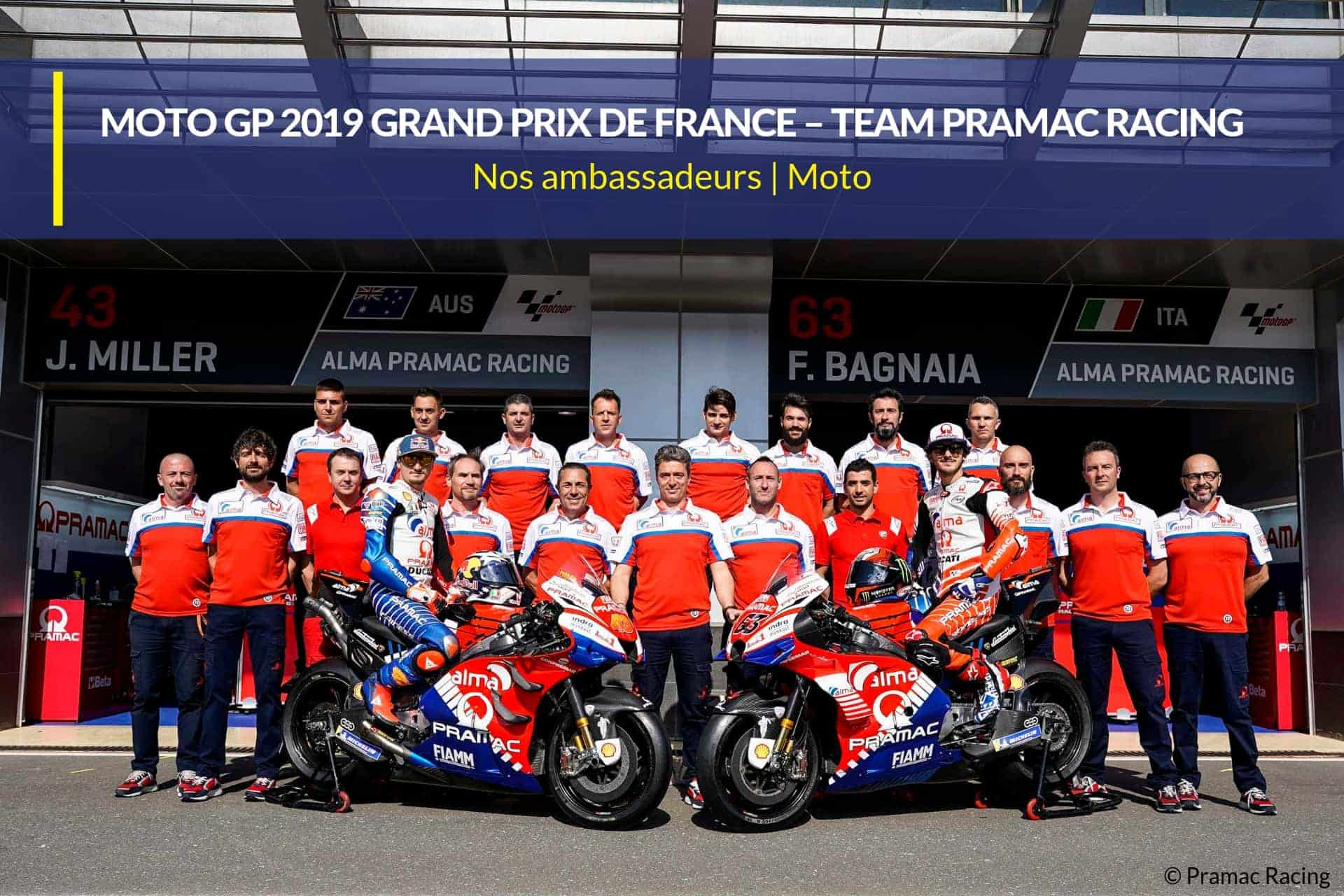 moto gp 19 team pramac racing