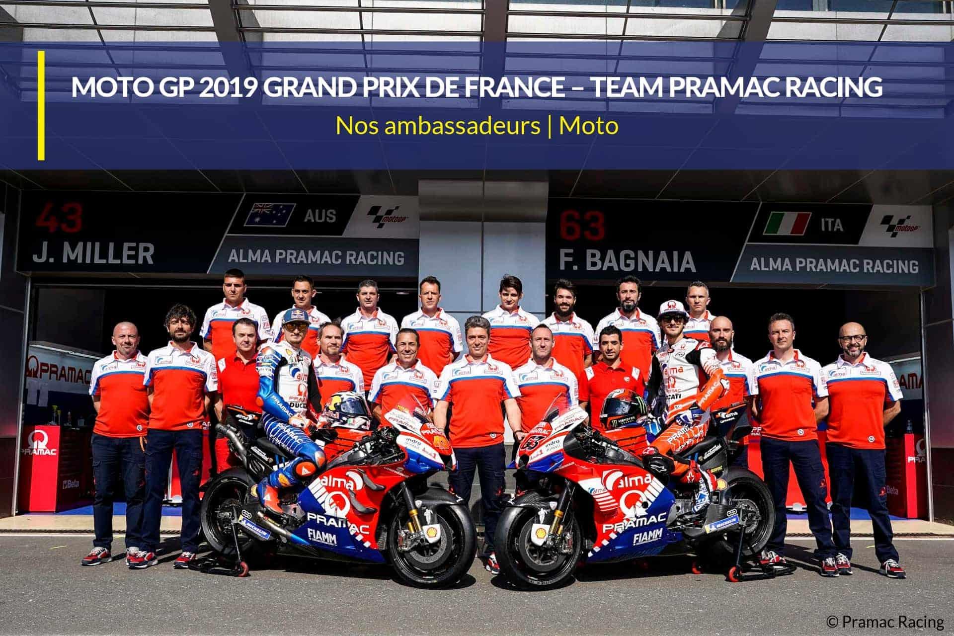 moto gp 19 team pramac racing