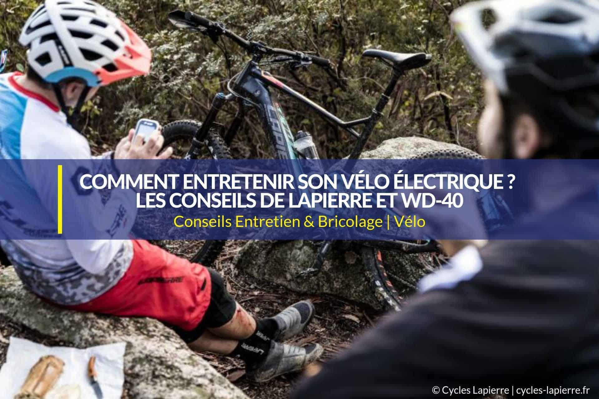 entretenir son vélo électrique lapierre
