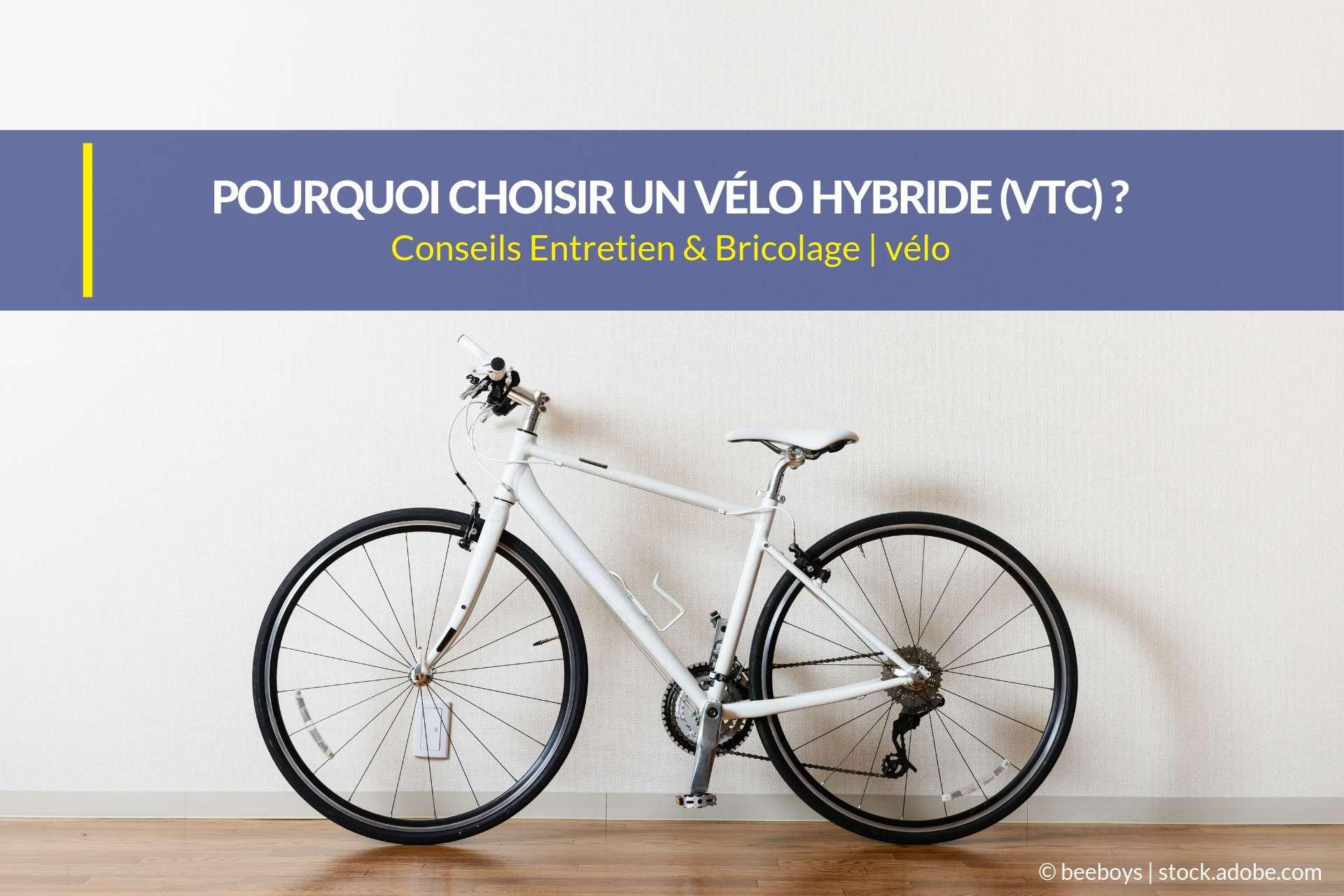 vélo hybride vtc
