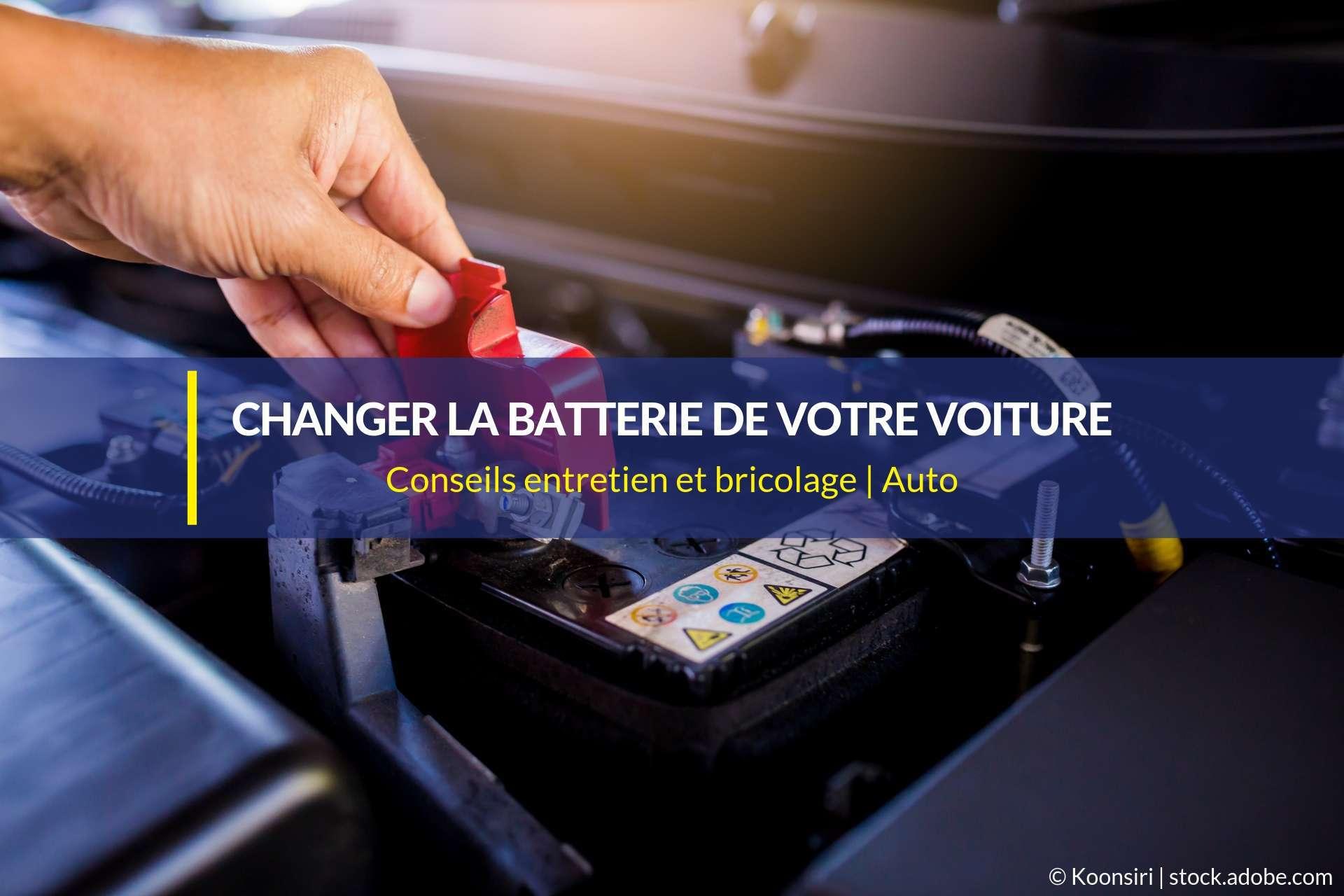 changer batterie voiture