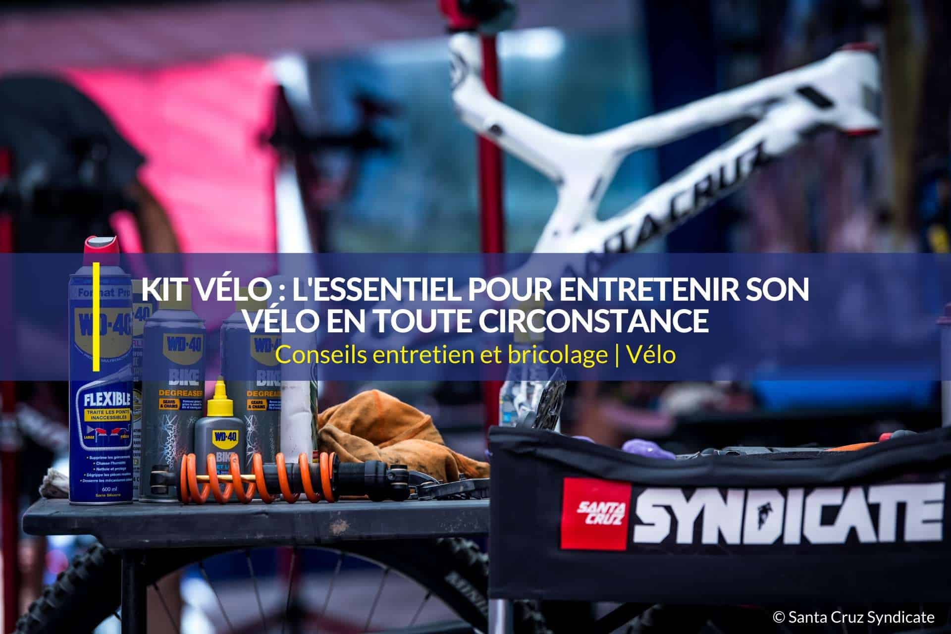 kit vélo entretenir vélo