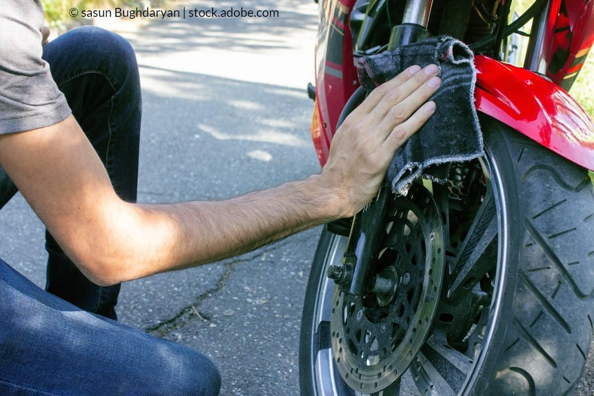 sécher moto