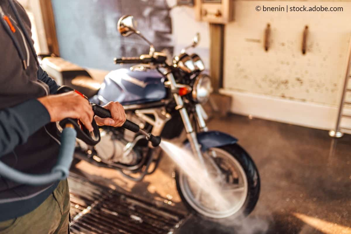 station lavage moto