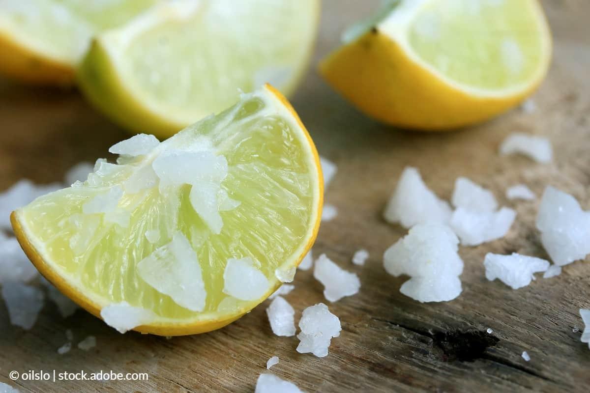 mélange sel citron rouille