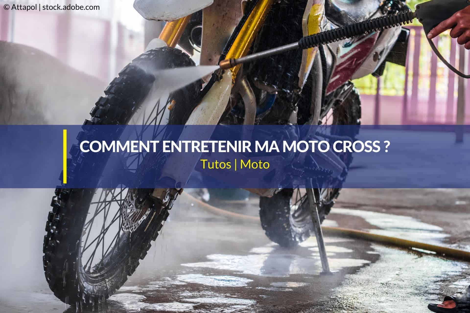 entretien moto cross