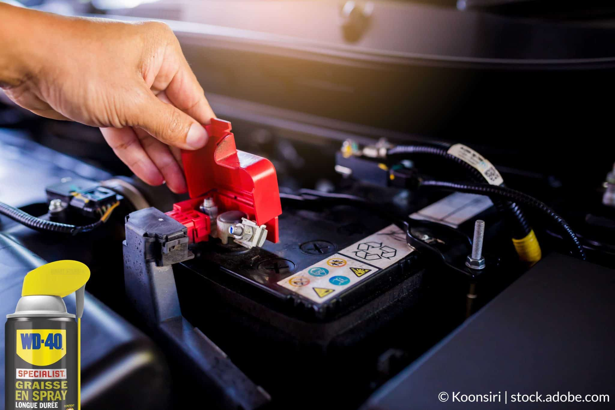 protéger batterie voiture