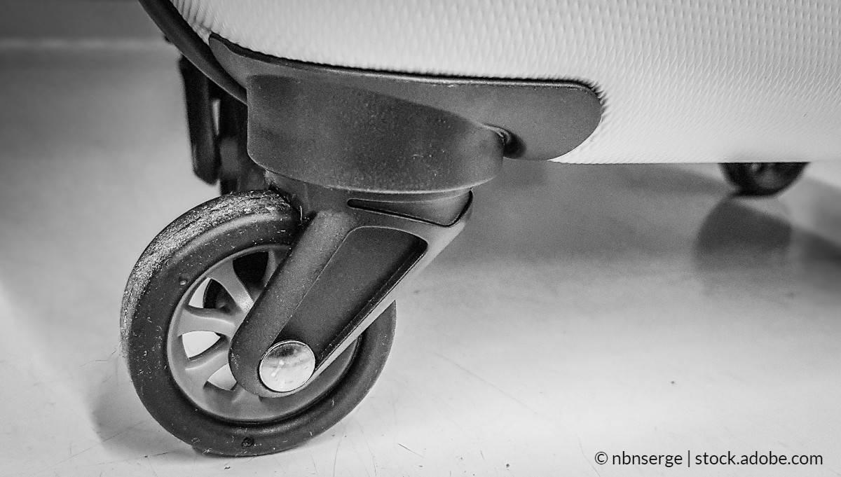 lubrifier roue valise