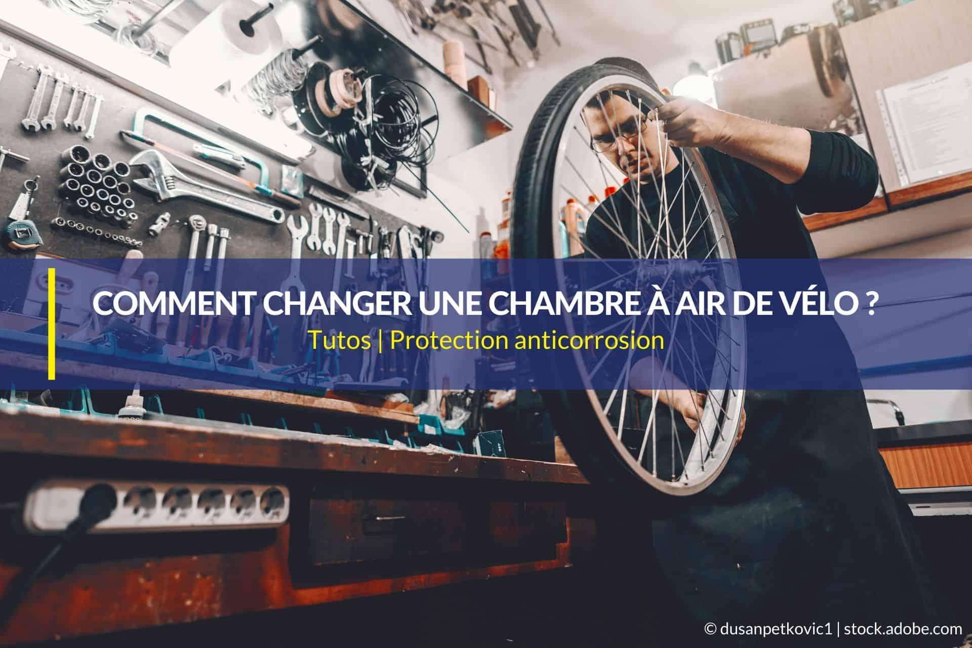 comment changer une chambre à air de vélo