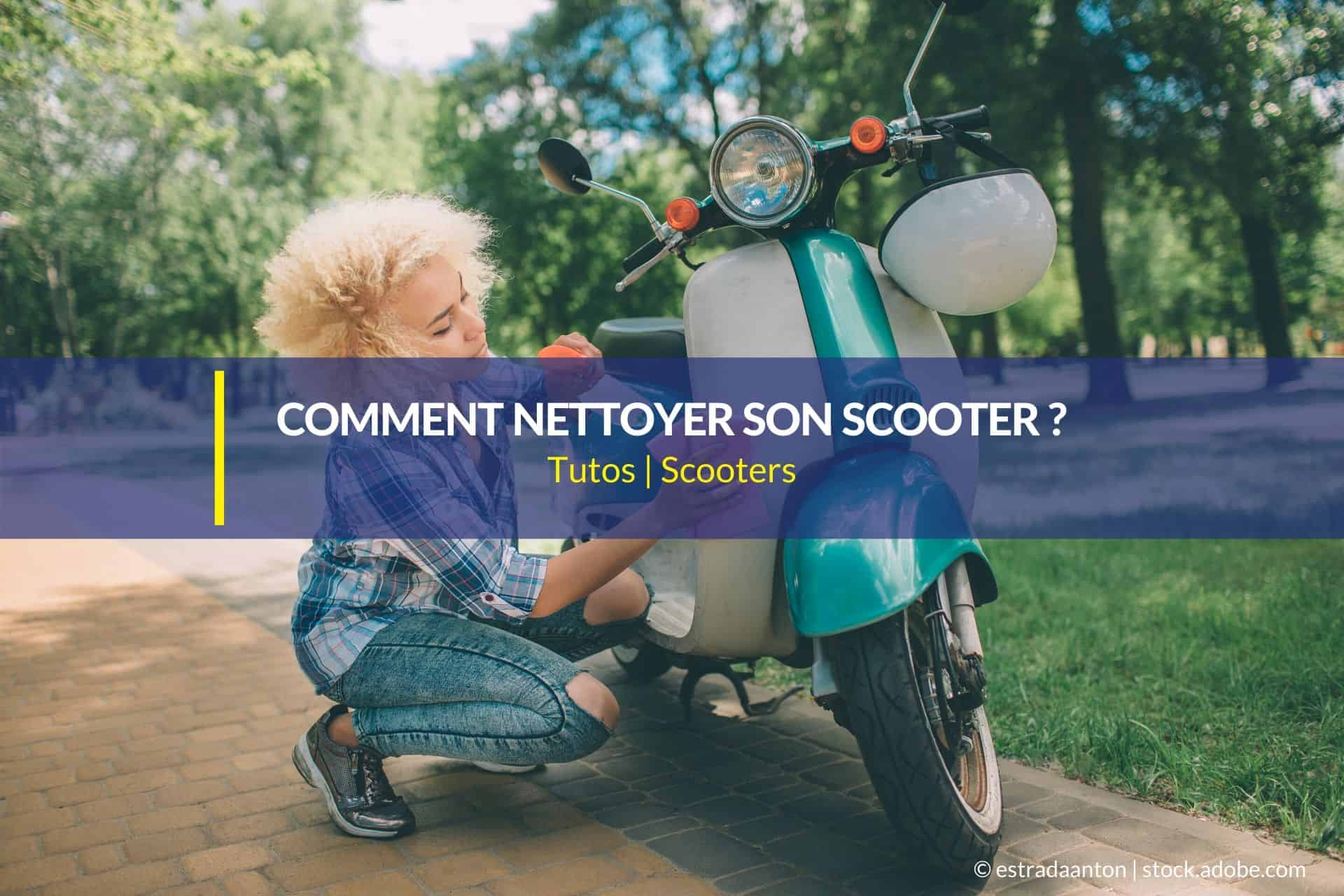 comment nettoyer son scooter