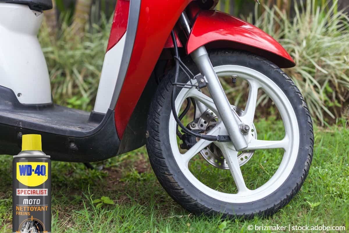 nettoyer disques de frein scooter