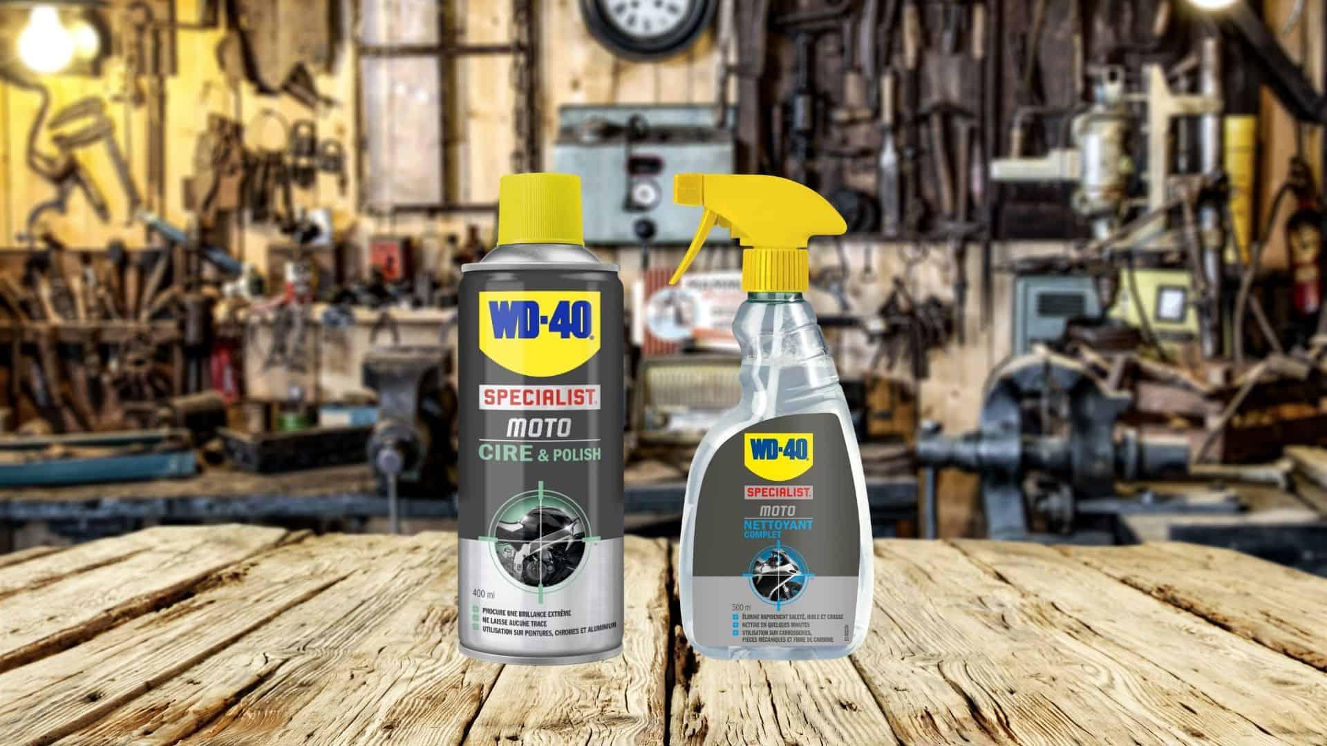produits pour nettoyer faire briller chrome moto