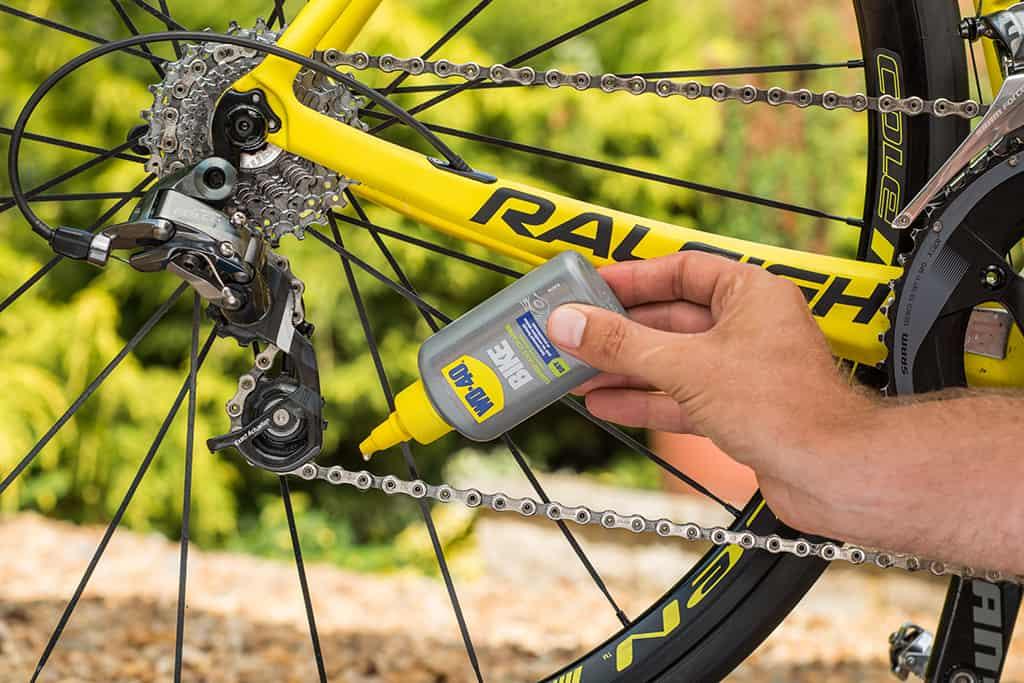 lubrifier chaîne vélo