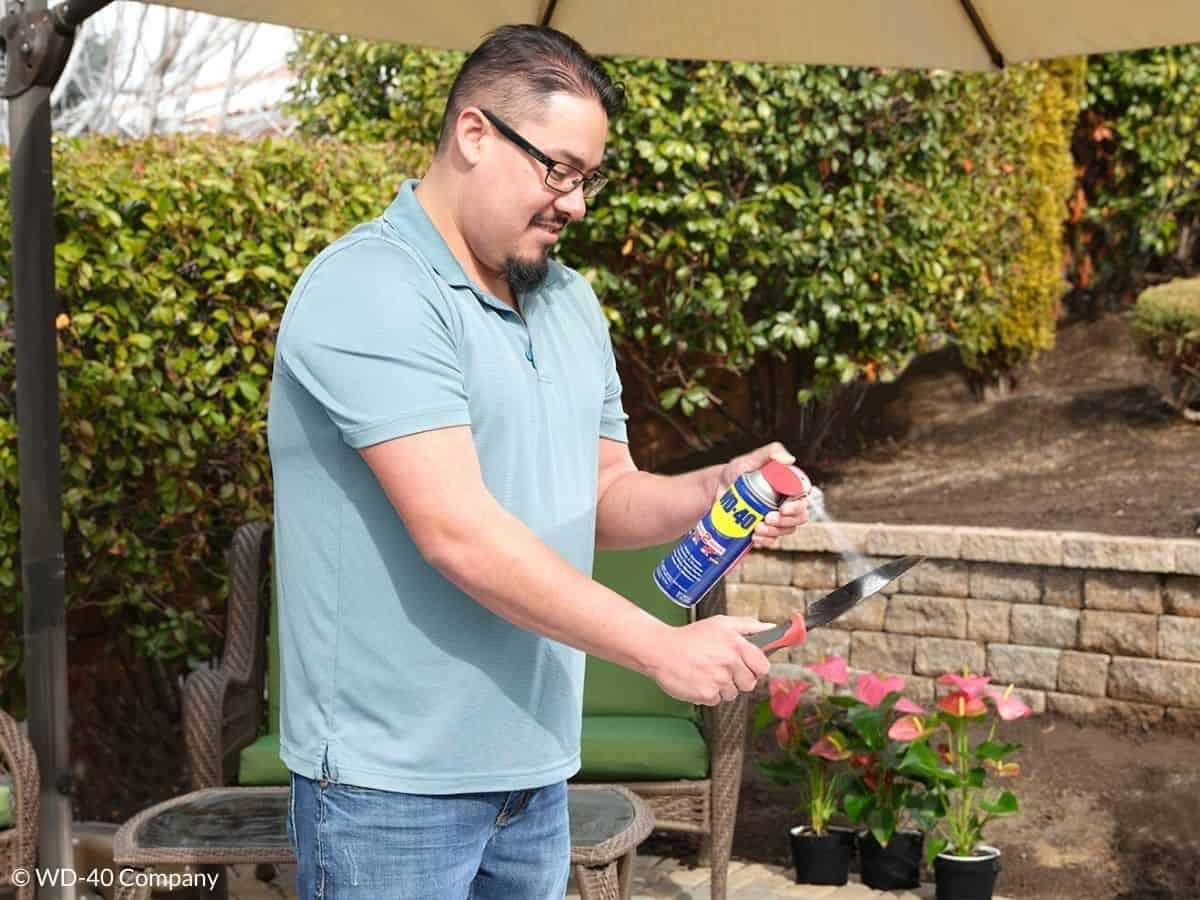 entretenir outils jardin