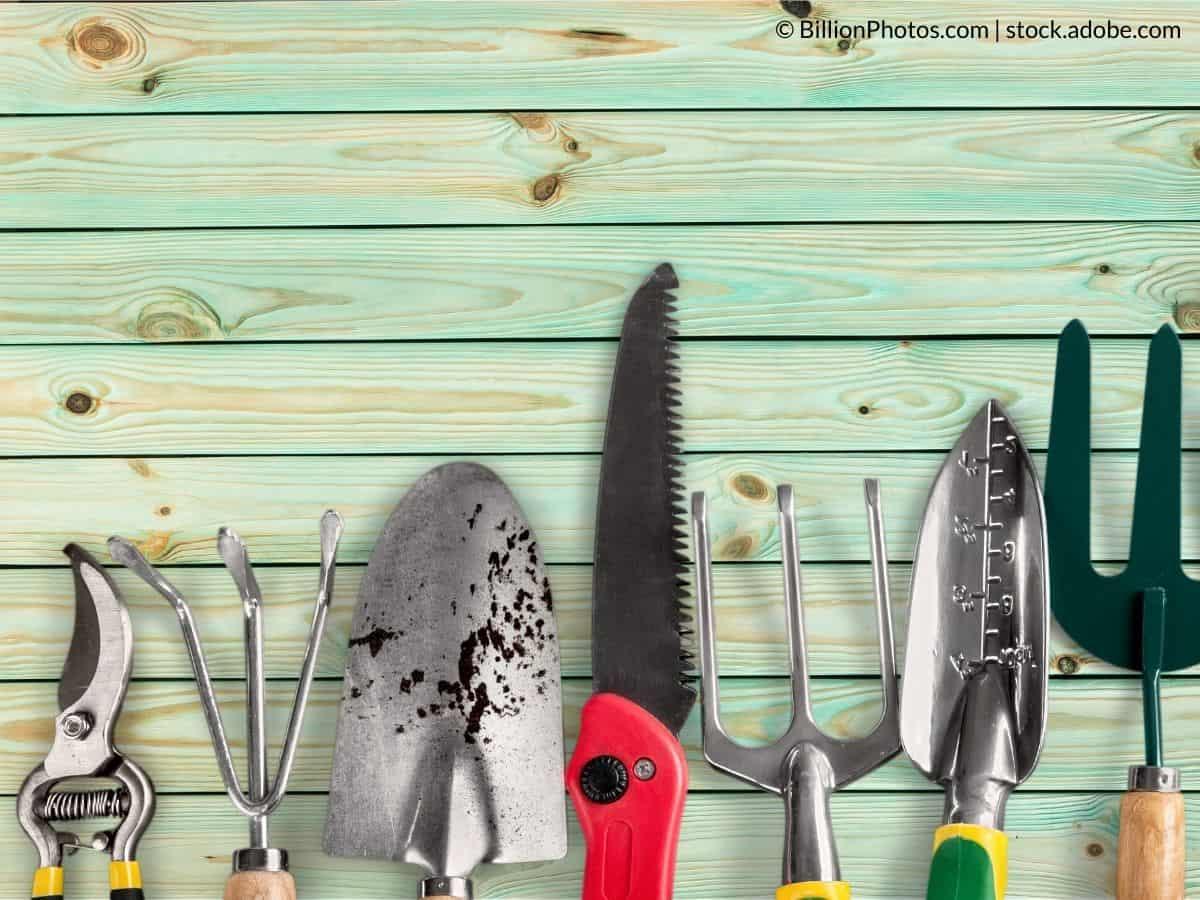nettoyer outils jardin