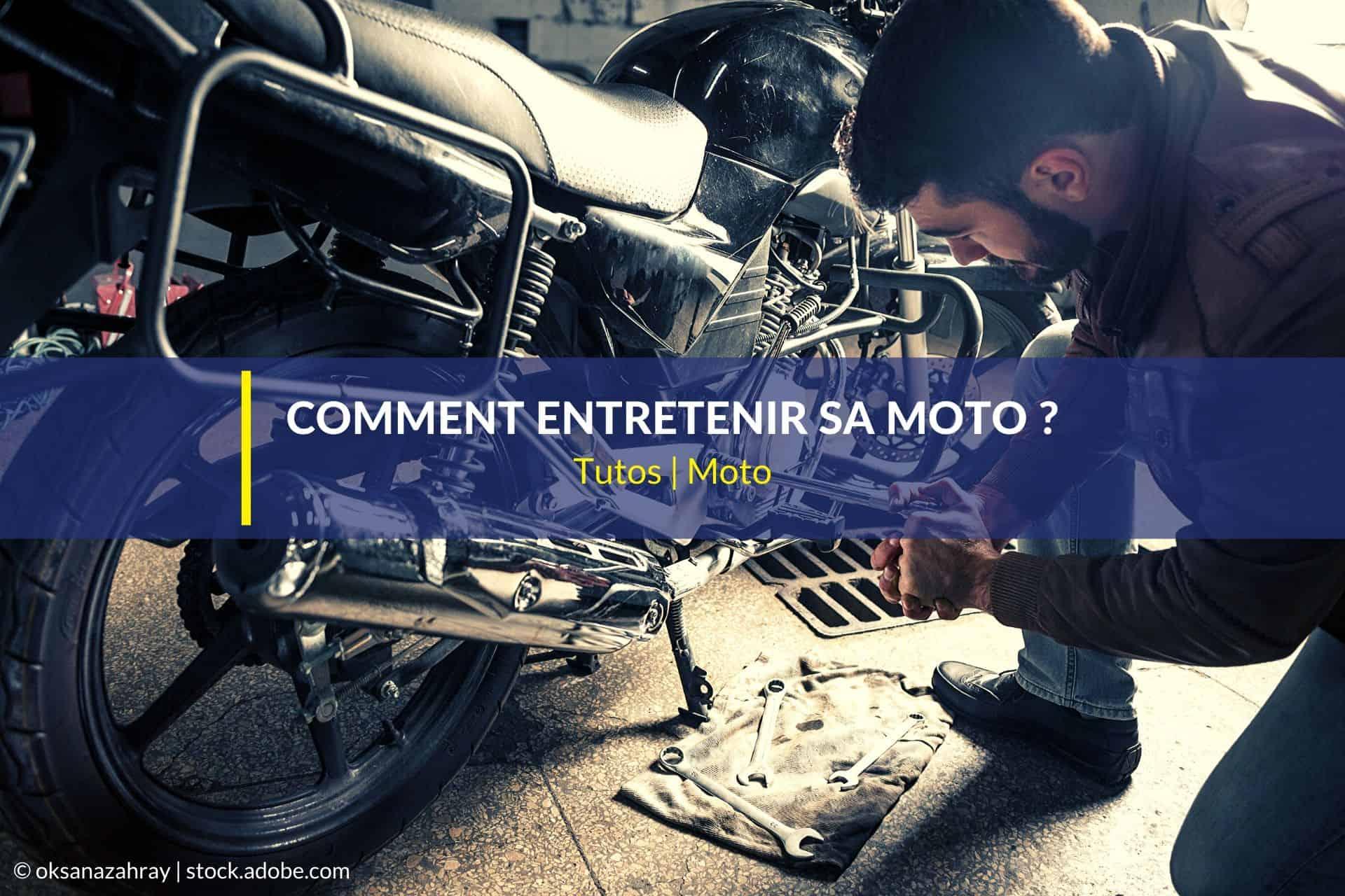 entretenir moto