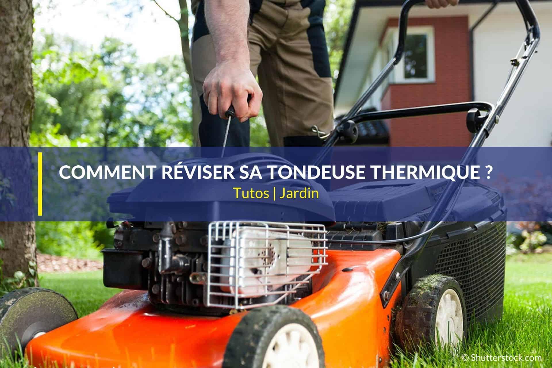 réviser tondeuse thermique
