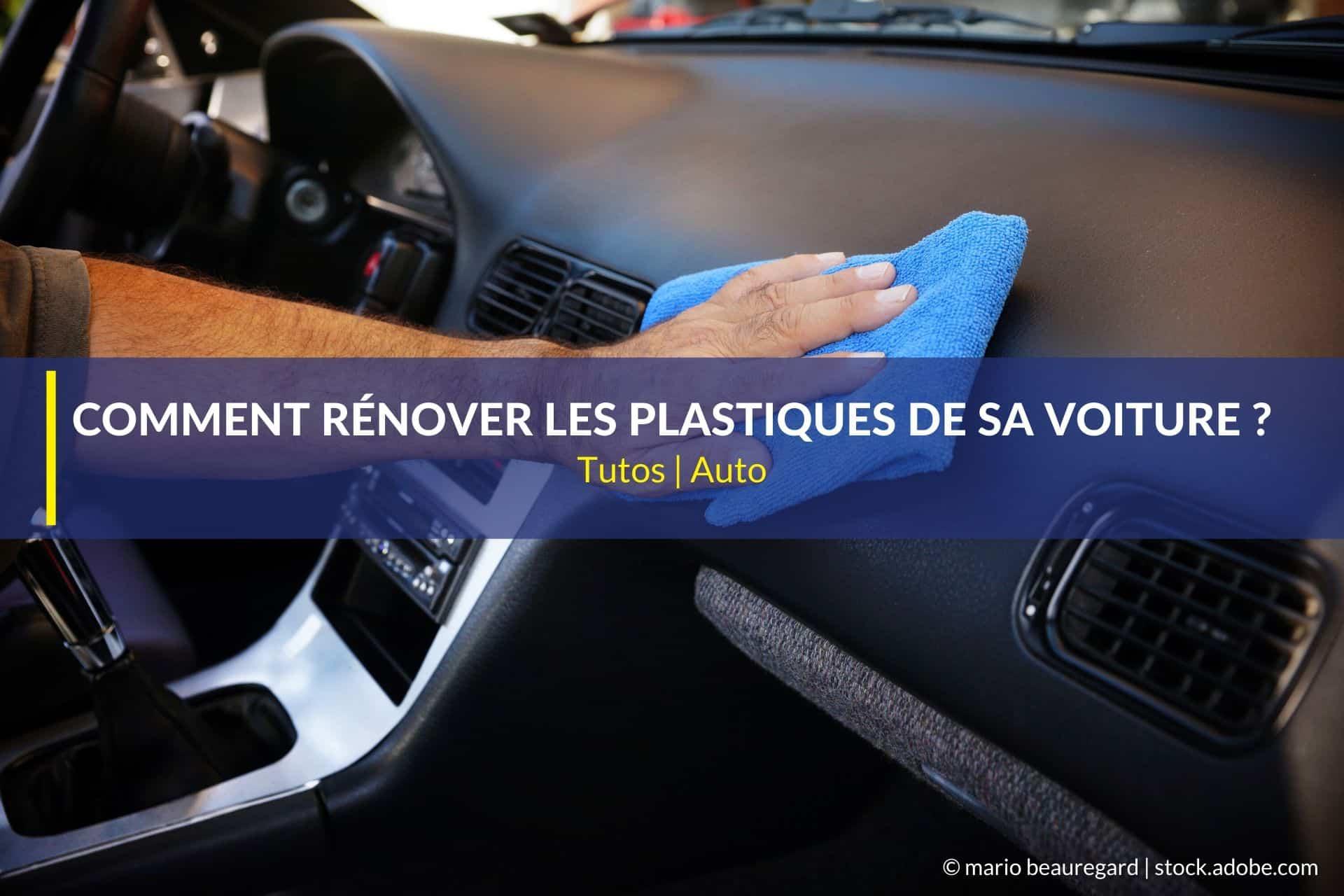 rénover plastiques voiture