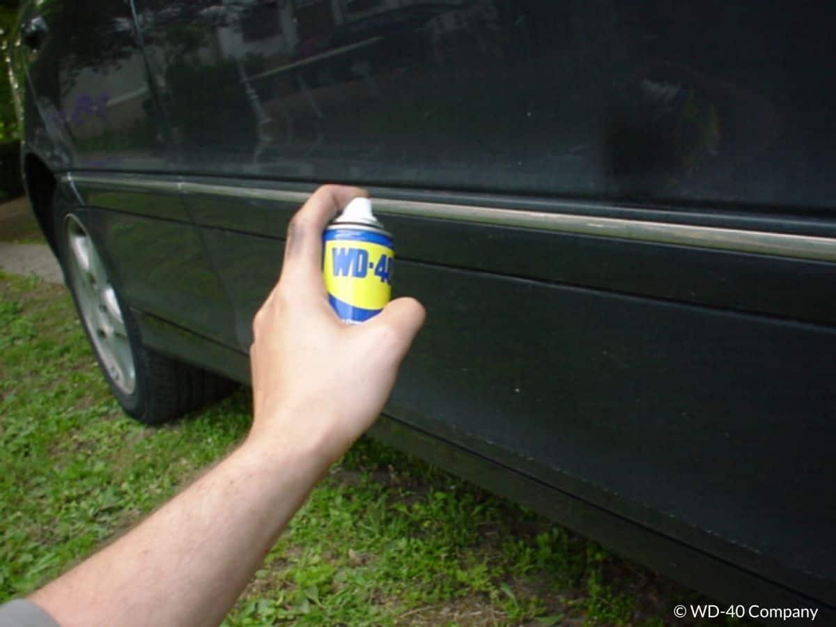 rénover plastiques extérieur voiture