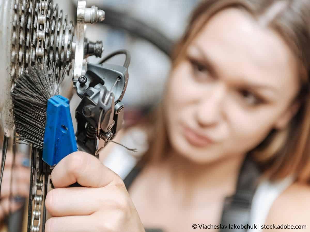brosser chaîne de vélo