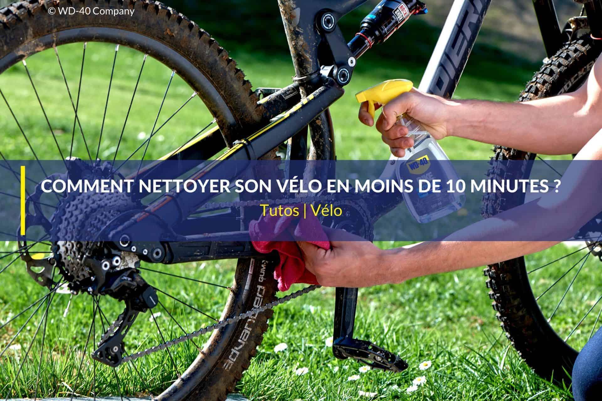 nettoyer vélo en 10 minutes