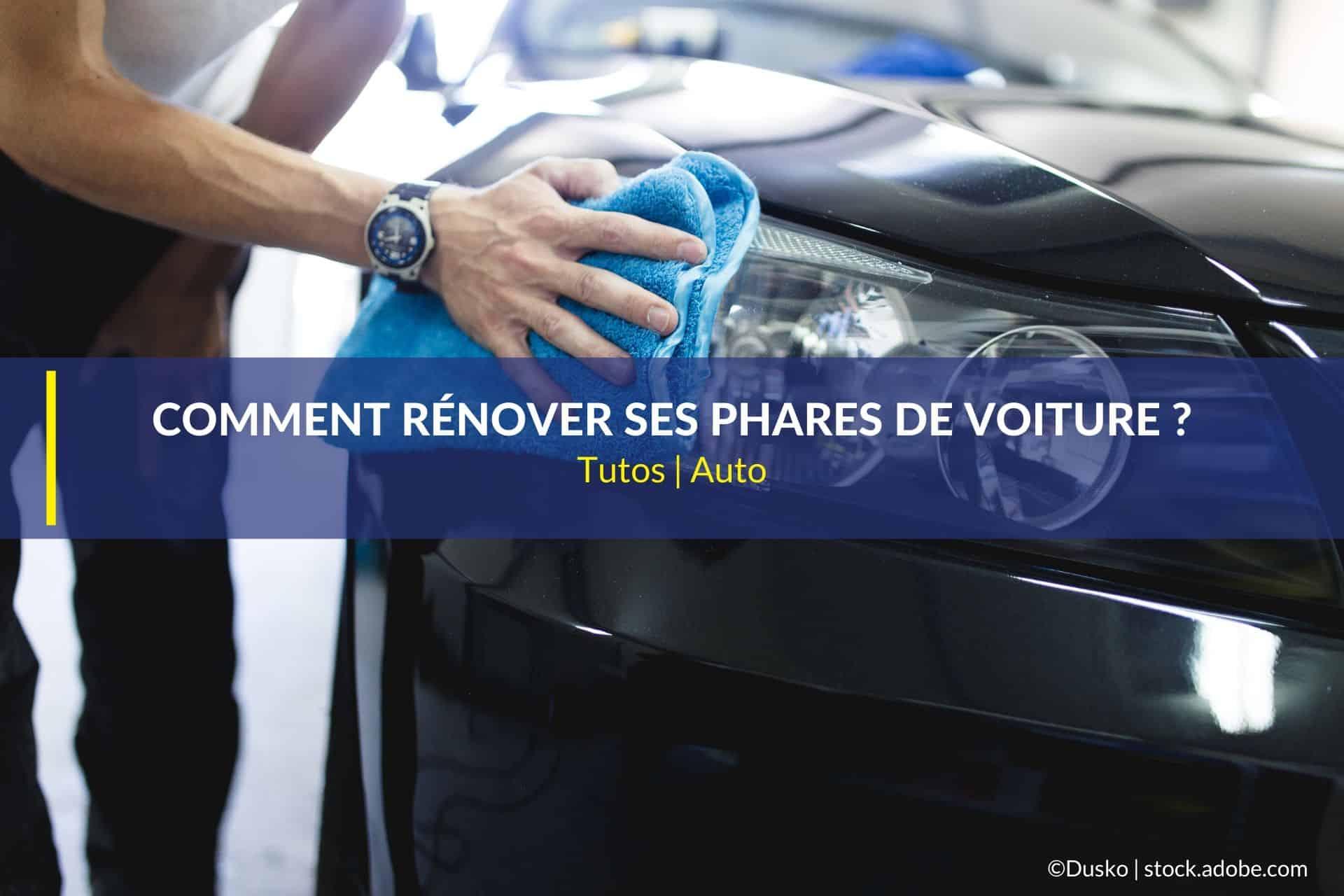 rénover phares voiture