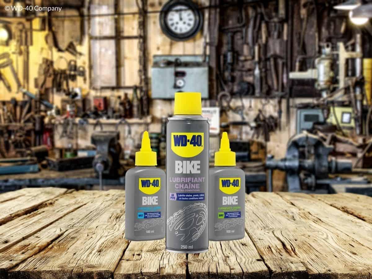 choisir lubrifiant chaine vélo