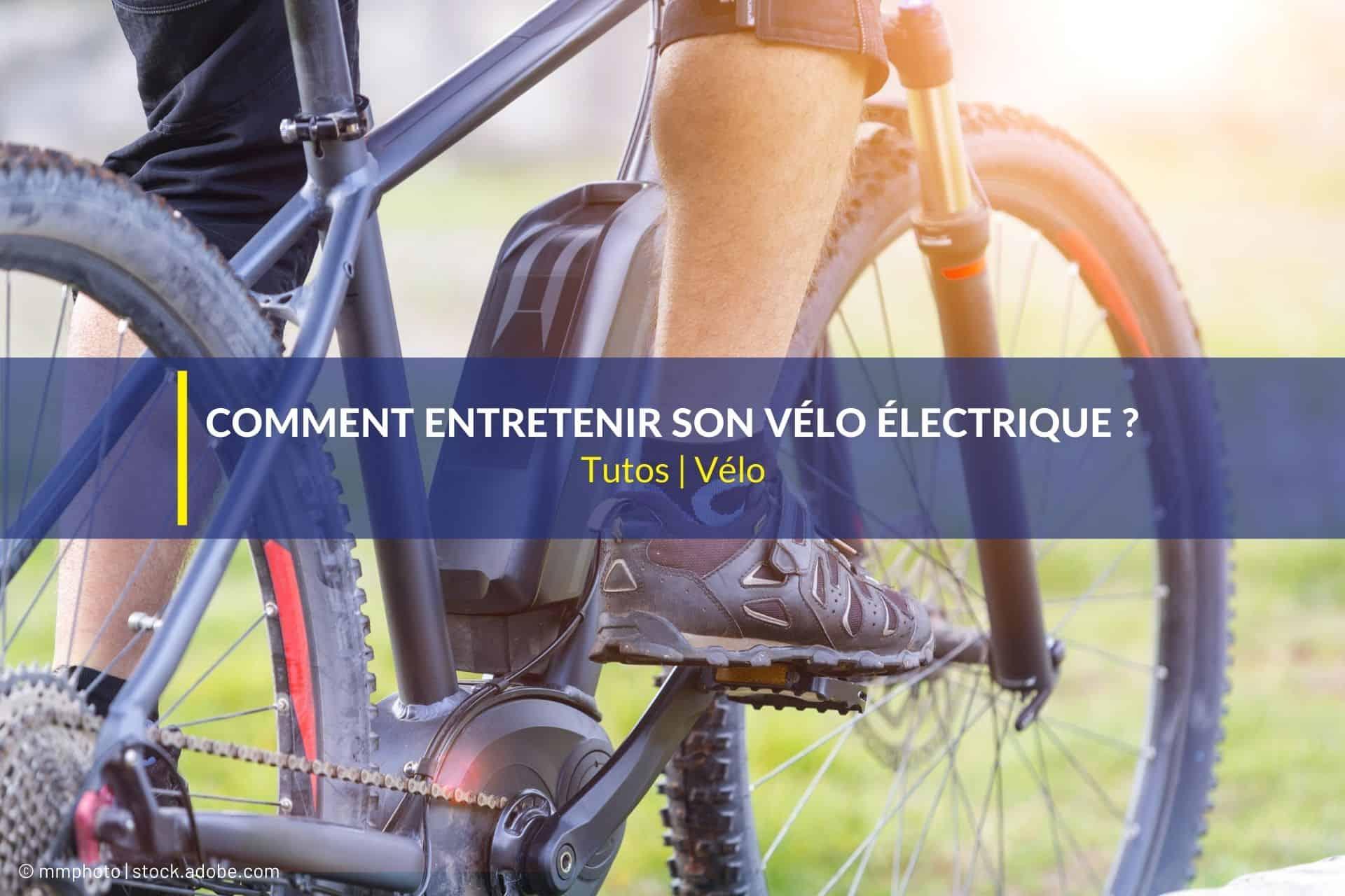 comment entretenir vélo électrique