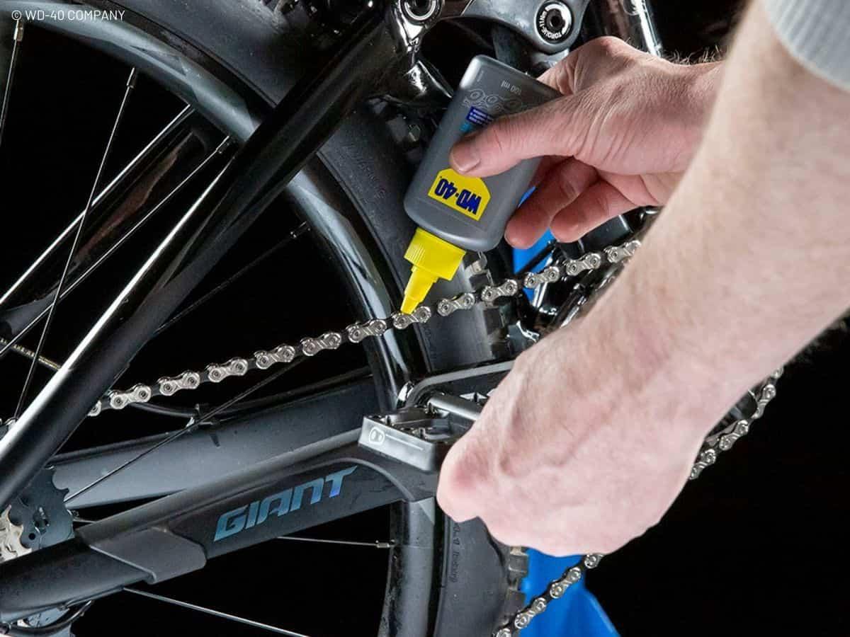 lubrifier chaine vélo