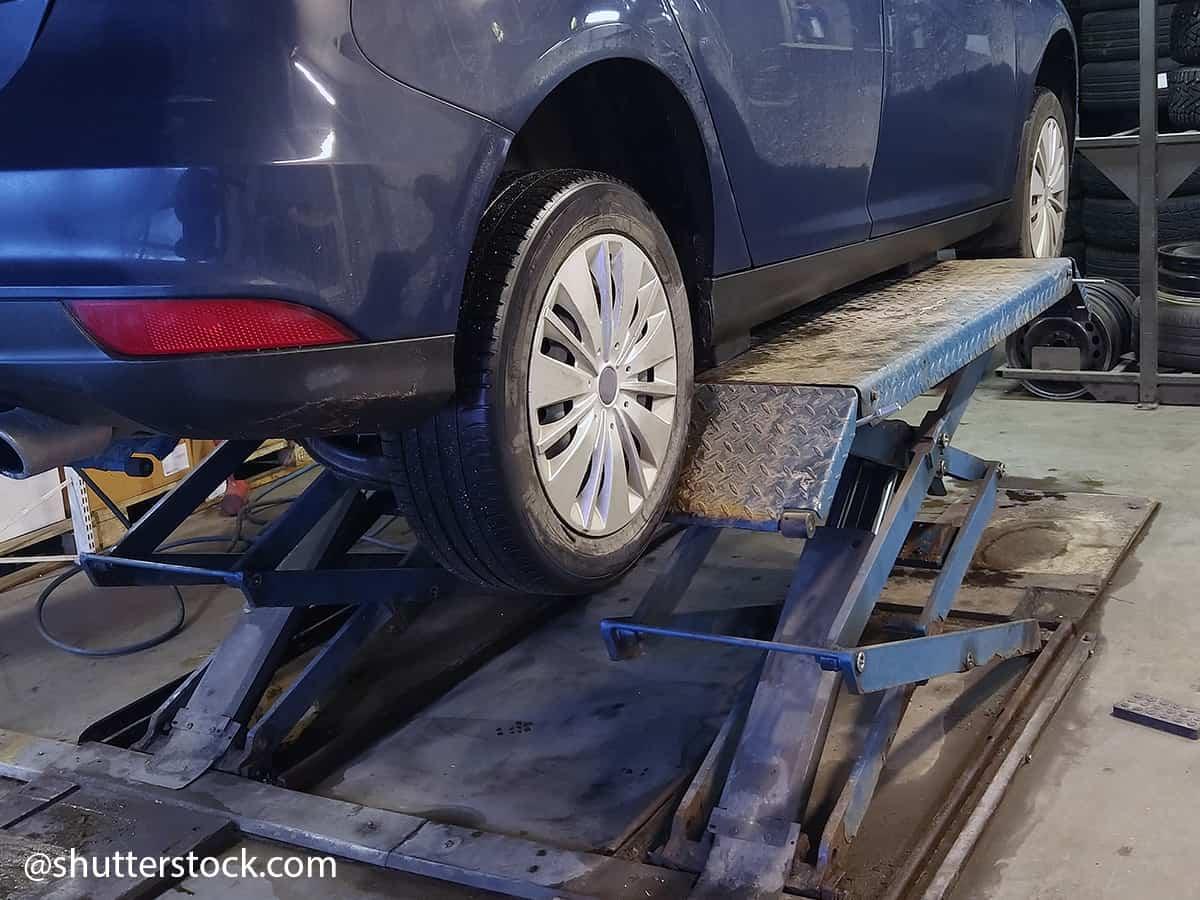 stocker pneus voiture