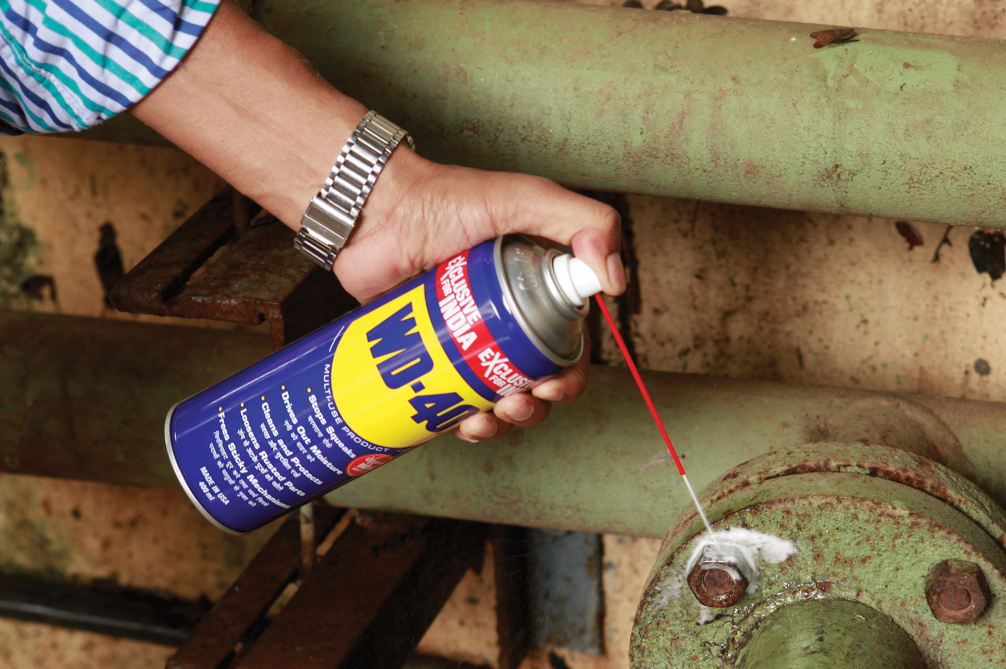 india wd40 can