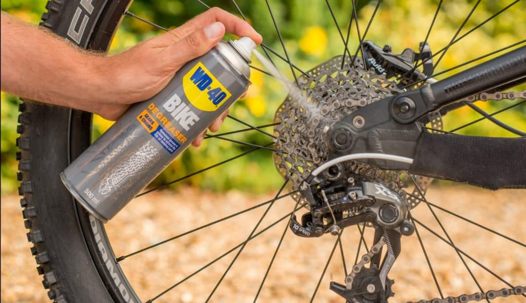 Bike Chain Cleaning Made Quick and Easy With WD-40