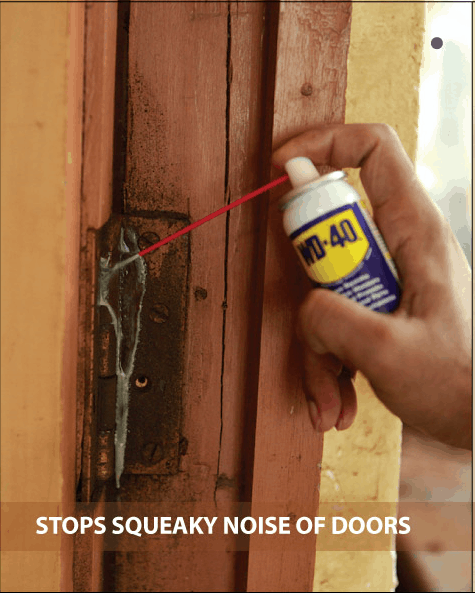 How to lubricate hinges