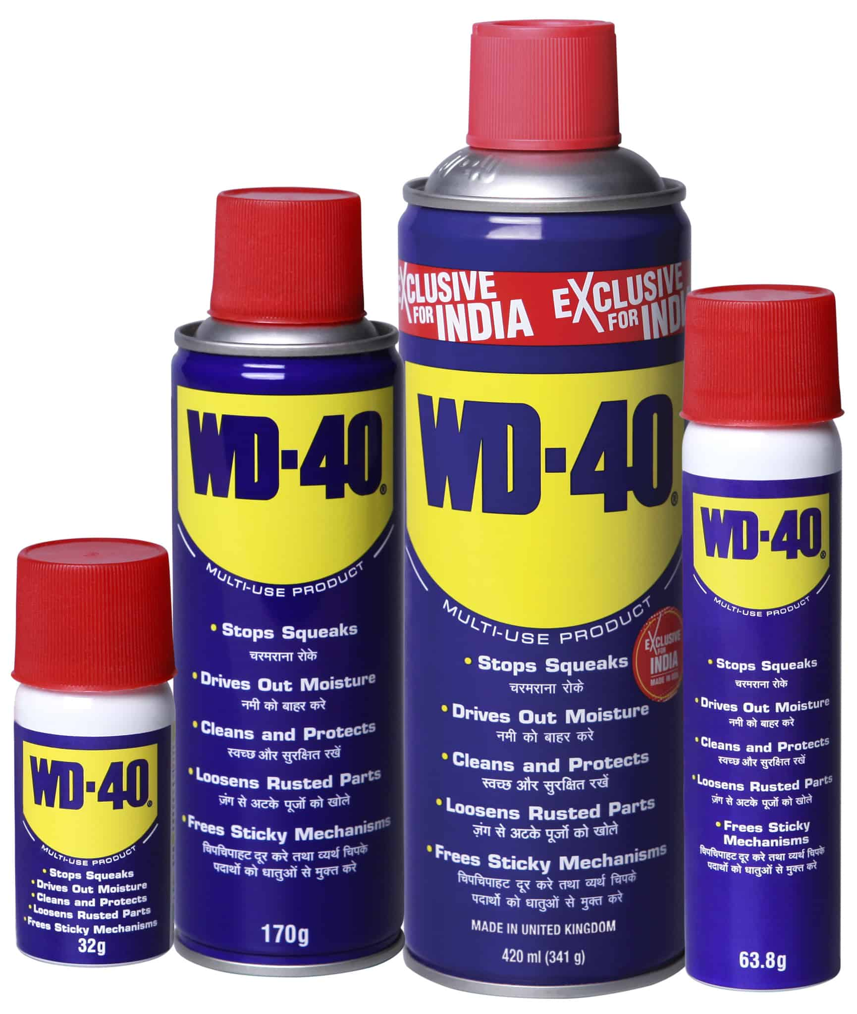 Start the New Year Off With WD-40!