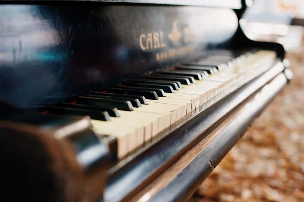 Clean Piano Keys