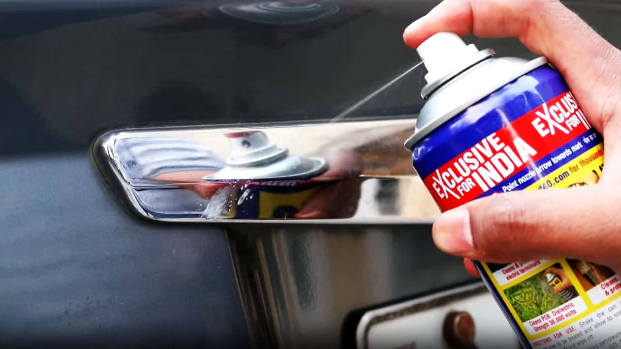 WD-40 Car Cleaning