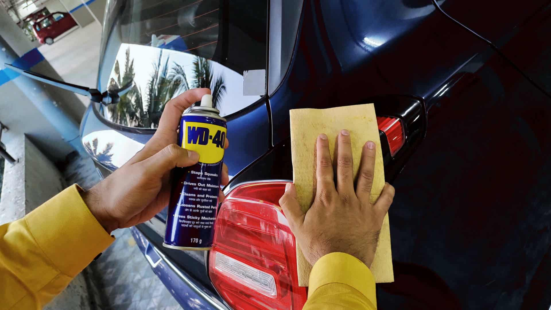 wd 40 car wash