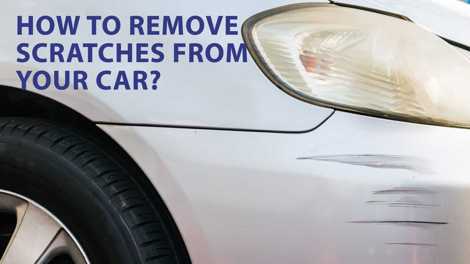 remove car scratches