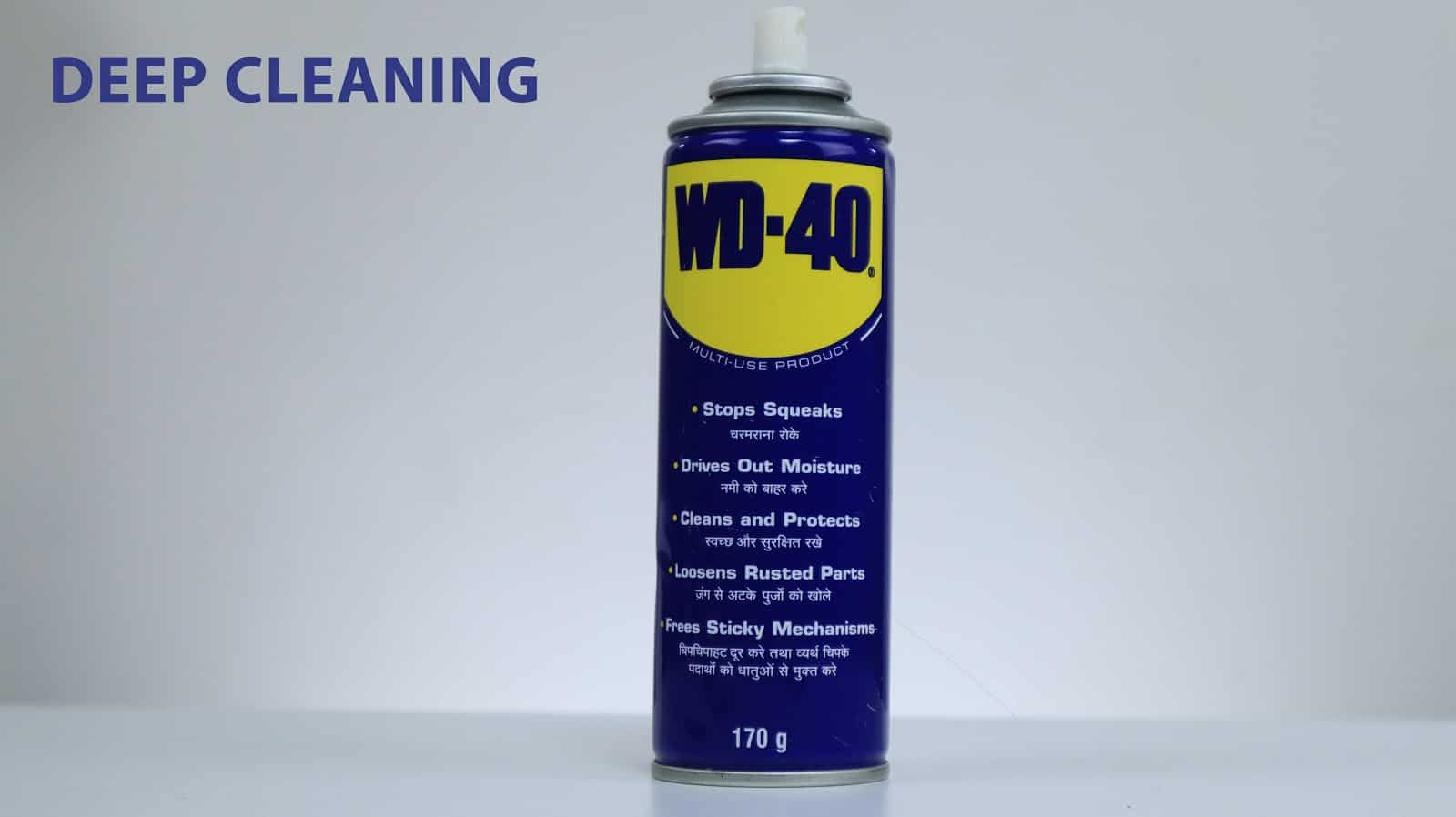 using wd40 for blocked sliding