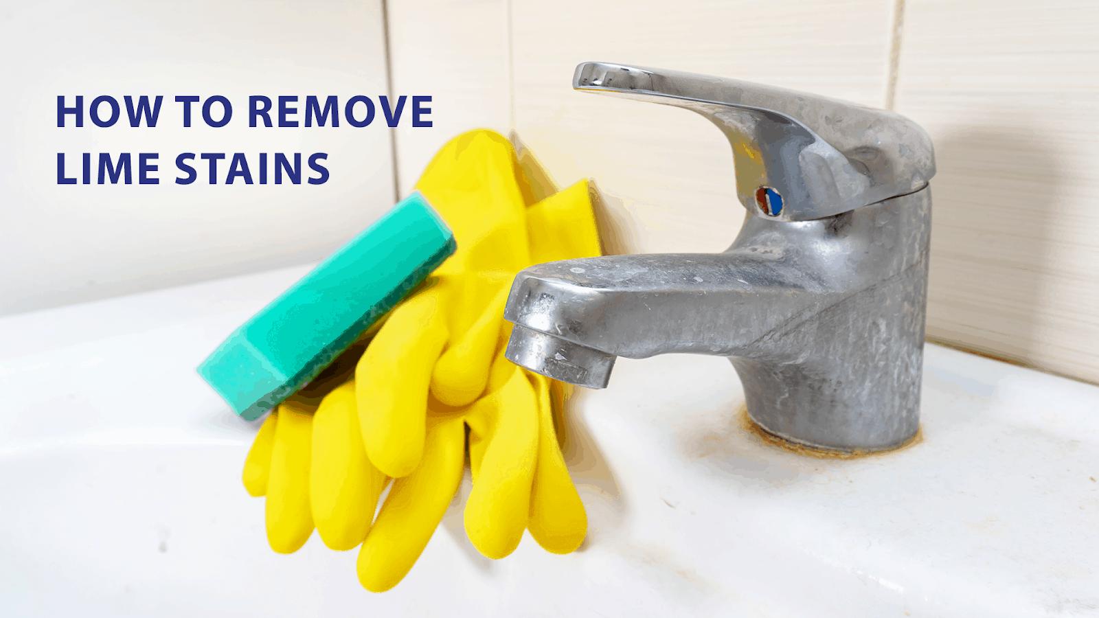 remove limescale
