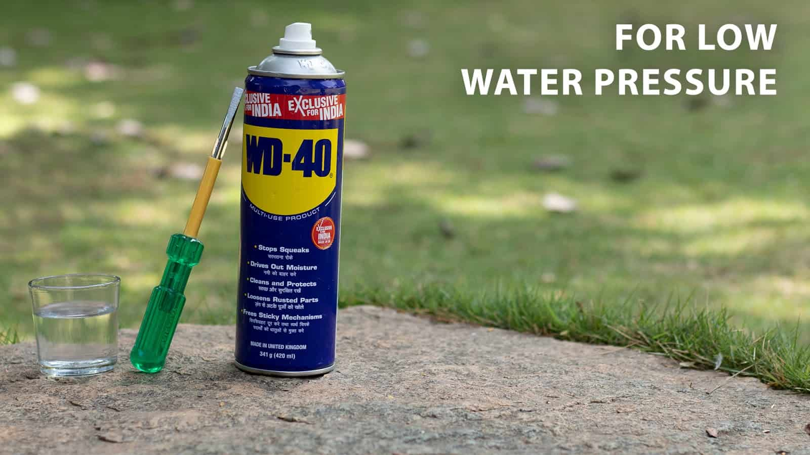 for low water pressure