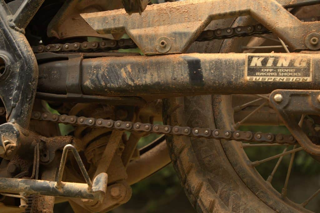 Easy Chain Maintenance With WD-40