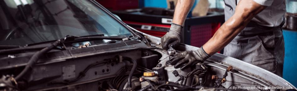 zaštititi motor auta prije čišćenja