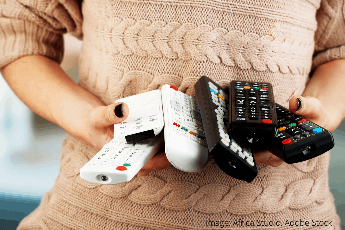 how to clean remote control 4
