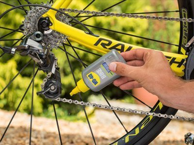 bike wet lube usage shot 2